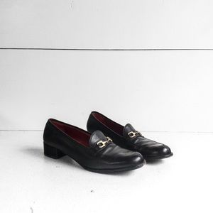 Vintage Salvatore Ferragamo Horsebit Loafers